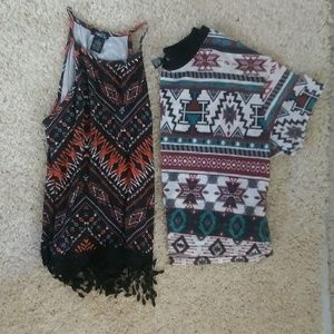 2 tribal tops